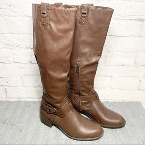 NEW Womens Rampage Intense Brown tall boots